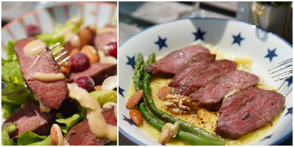 UP 運動吃沙拉|迷迭香肩舒肥牛排|在家享受低溫舒肥牛排|舒肥牛排創意吃法