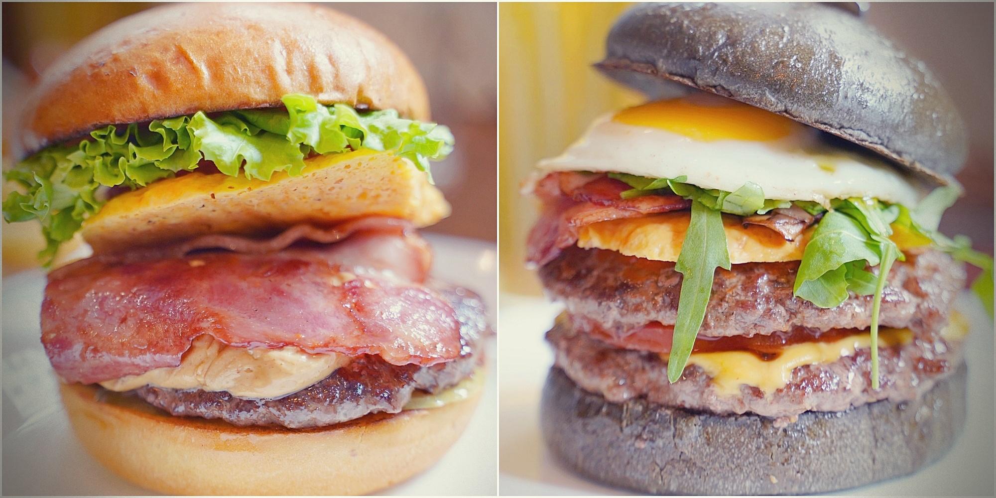 Selfish Burger 喀漢堡|四四南村好吃漢堡|台北信義區創意漢堡(菜單、價格)