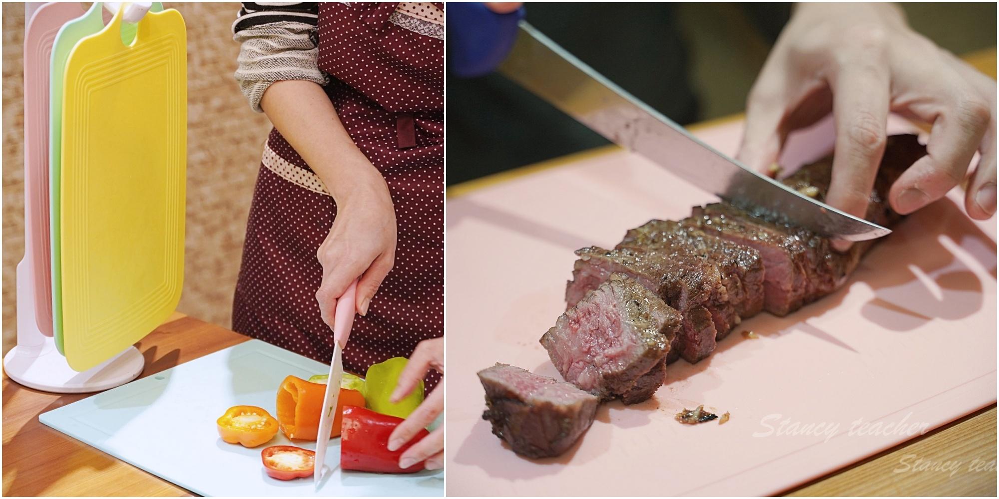 Zaniin TPU 刻度方形砧板組|環保無毒耐熱菜板|好用菜板推薦