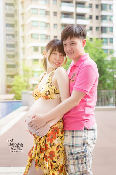 幸福孕事 *J+M光影敘事* 孕婦寫真歡樂拍拍