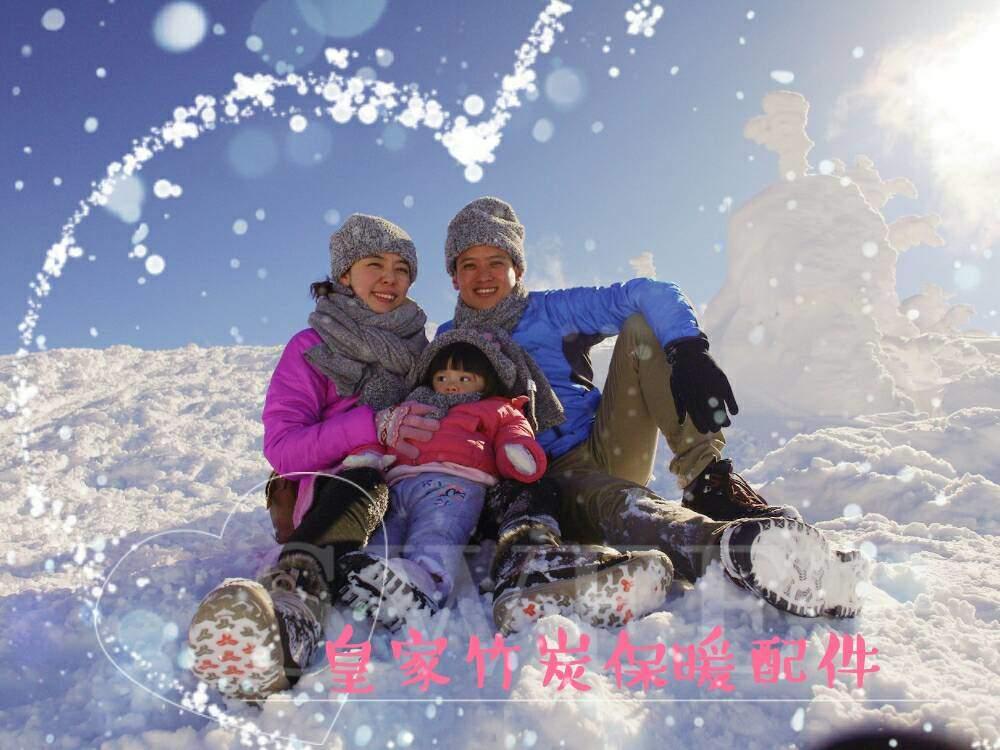 勇闖零下14度日本藏王冰山 必備皇家竹炭保暖配件 讓你暖呼呼
